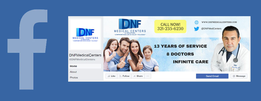 DNF Medical Centers Facebook