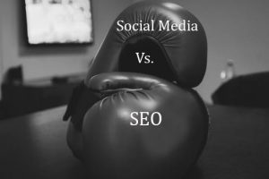 difference between social media and SEO