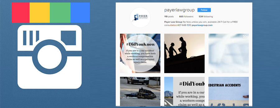 instagram payer law group