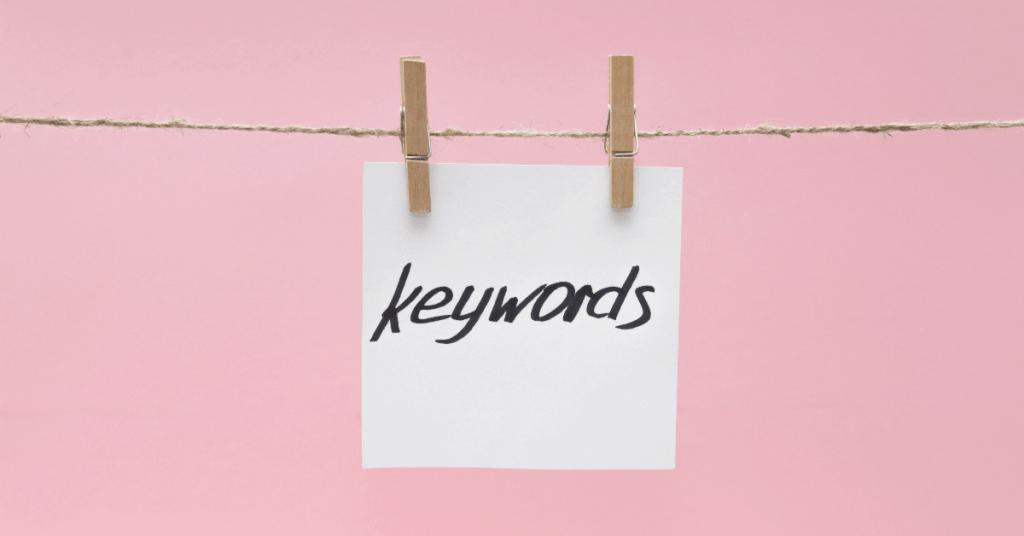 blog keyword strategy around Tampa
